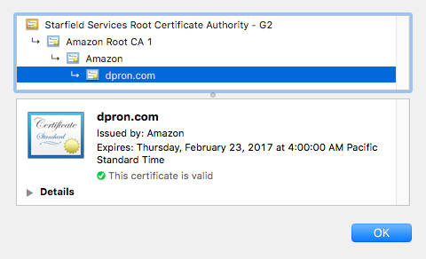 Free SSL With Amazon\'s AWS Certificate Manager (ACM) - dpron